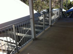 School Handrail fabrication