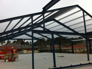 Steel Roof Fabrication