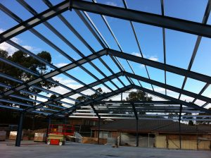 residential structural steel framing