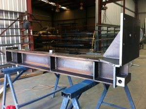 Large structural beam fabrication