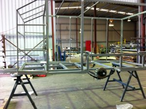 Trailer frame welding repairs