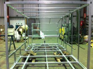 Custom Steel Fabrication trailer