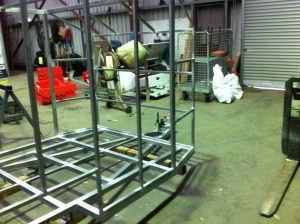 Custom Steel Fabrication trailer