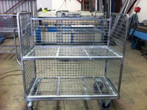 Custom Steel Fabrication trolley