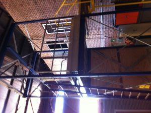 Workshop mezzanine level
