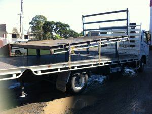 Truck body on Truck