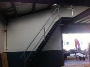 Factory mezzanine level