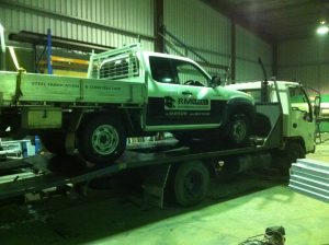 Car Trailer Fabrication