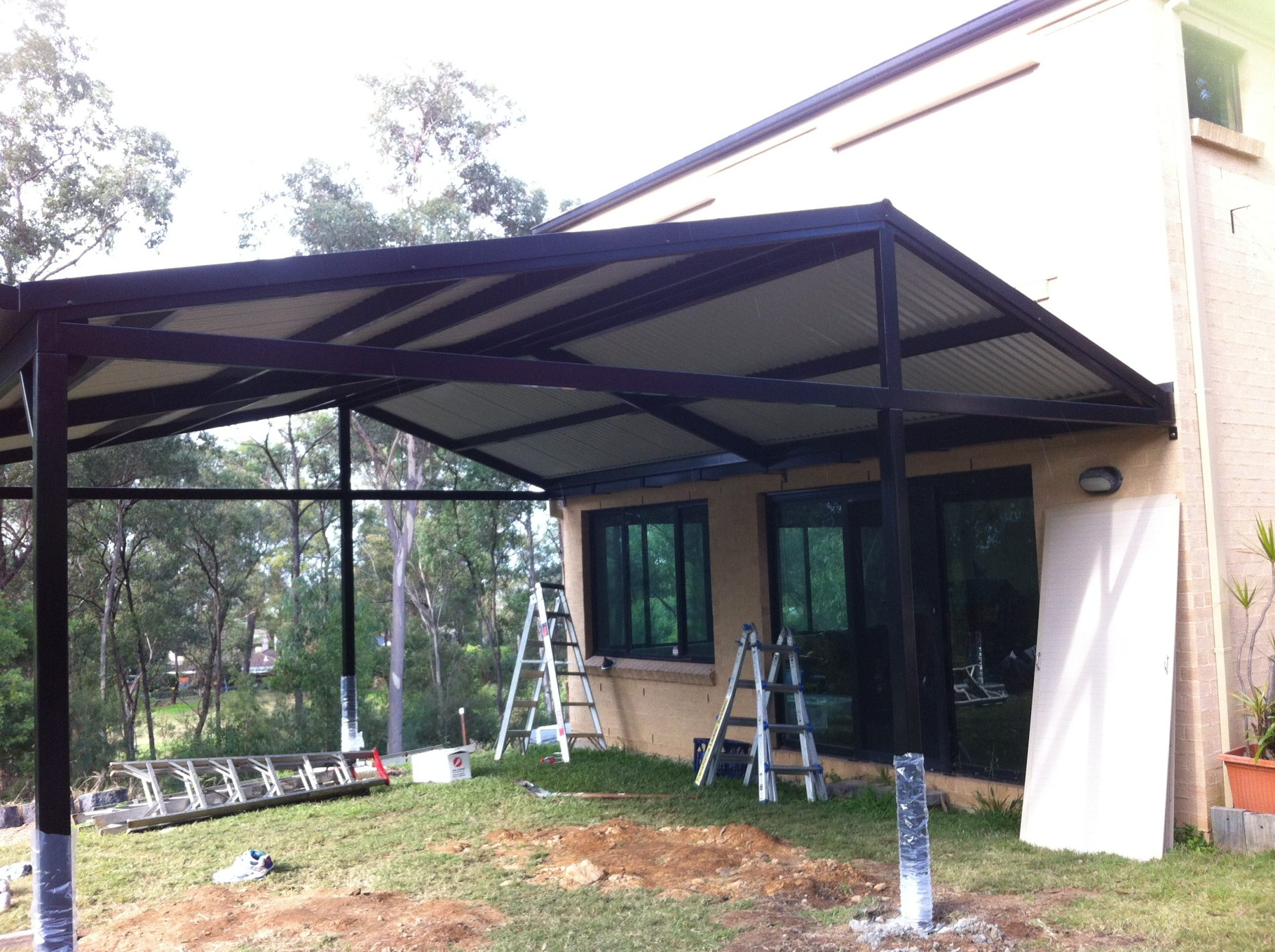 Colourbond Awning installation in Penrith