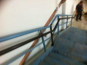 Steel stair handrail Penrith