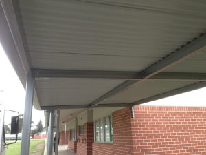 Awning at school in Penrith