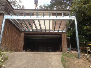Steel Carport frame