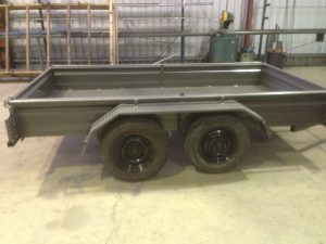 Galvanised Steel Trailer Fabrication and Repairs