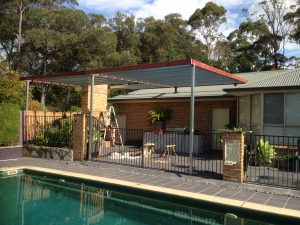 Steel Roof Awning Sydney