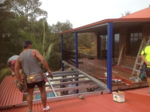 Steel Decking and Awning Blue Mountains