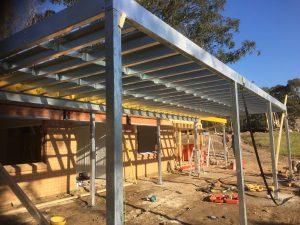 Steel Decking builder