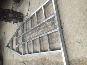 galvanised steel trailer repairs