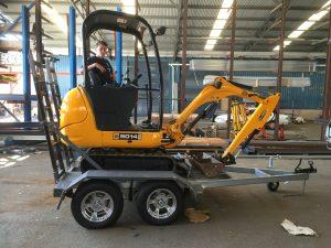 Excavator Trailer fabrication and repairs