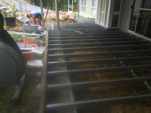 Steel Decking frame Penrith