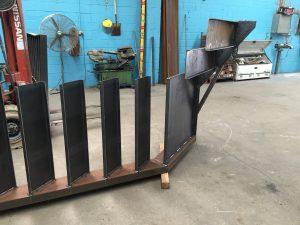 Custom Metal Stairs installation