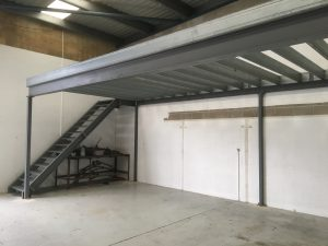 Steel Workshop Factory Mezzanine Penrith