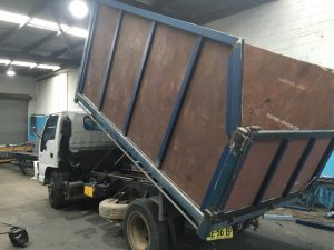 Tipper Truck body Fabrication
