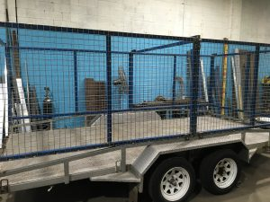Custom Trailer Cages