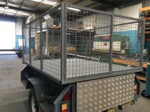 Trailer Cage fabrication