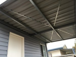 Metal Awning Installation Penrith
