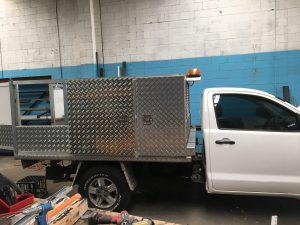 Custom Steel Fabrication Tool box Penrith