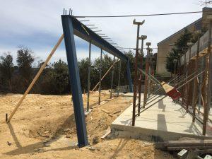 Structural Steel Beam installation