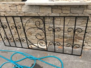 Custom metal handrail installation Penrith