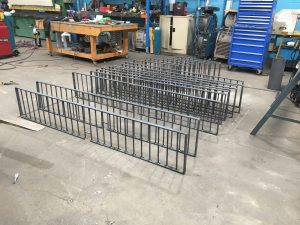 Steel Handrail fabrication