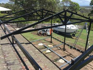 Steel Roof Awning Blue Mountains