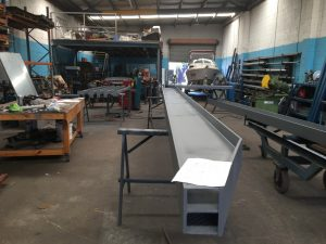 Custom Steel Beam Fabrication