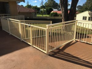 Steel Handrail and gate in Penrith