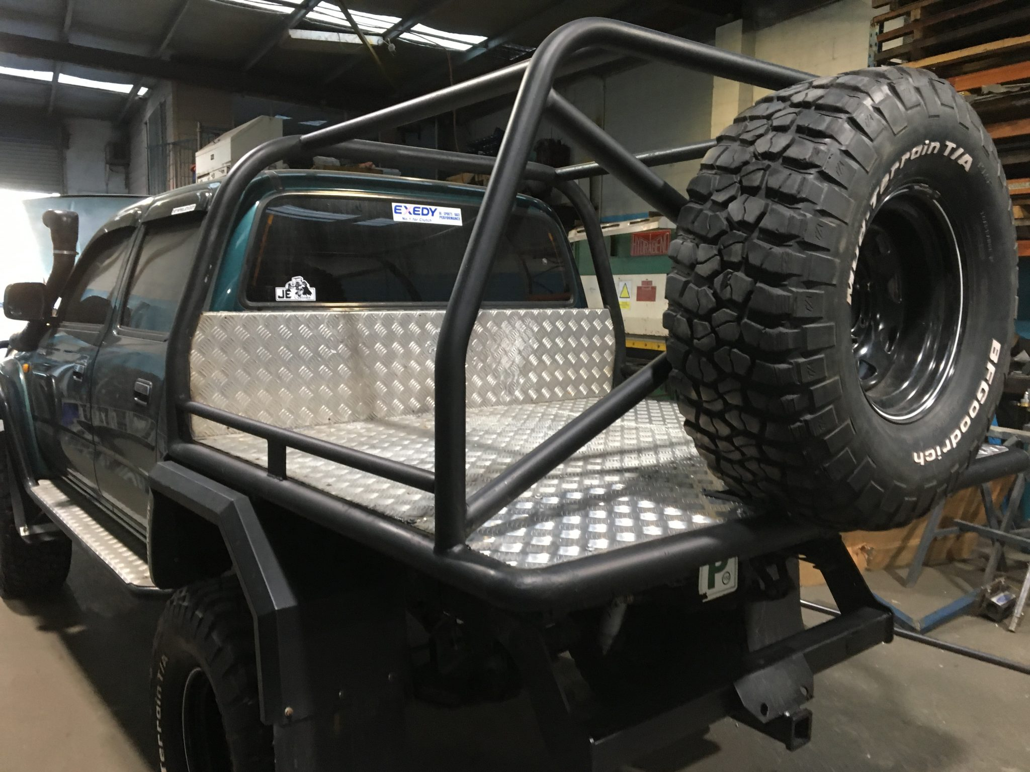 Vehicle Frame Fabrication
