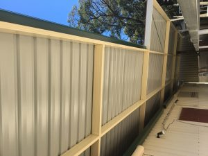 Colourbond Roof Awning Penrith