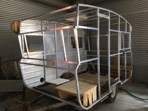 Caravan frame repairs Penrith, Sydney