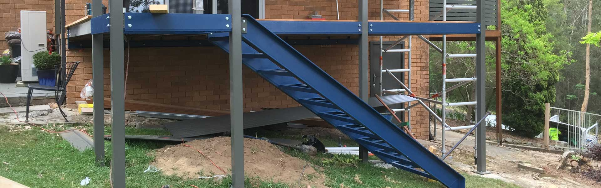 Steel Stairs Fabrication