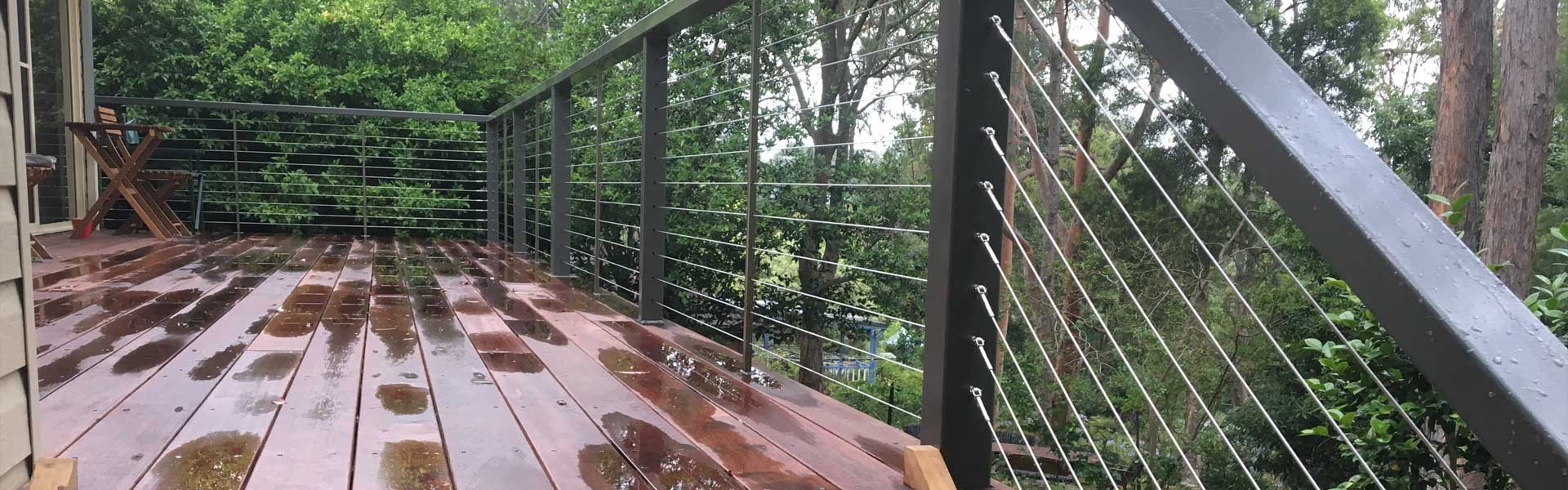 Stainless Steel Wire Handrails