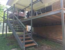 Steel Decks and Awnings